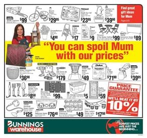Mothers Day Bunnings Catalogue May 2017