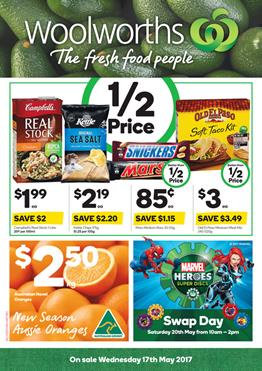 Woolworths Catalogue Grocery 17 - 23 May 2017