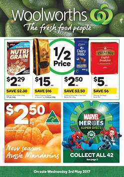 Woolworths Catalogue Grocery 3 - 9 May 2017