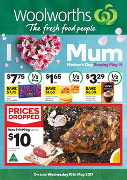 Woolworths Catalogue Mothers Day 10 - 16 May 2017