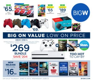 Big W Catalogue Game Sale June 2017
