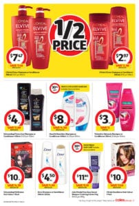 Coles Catalogue Personal Care Deals 11 June 2017