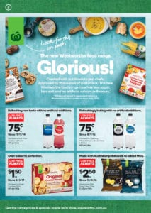 Woolworths Catalogue Grocery Deals 7-13 June 2017