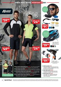 ALDI Catalogue Bike Gear 12 July 2017