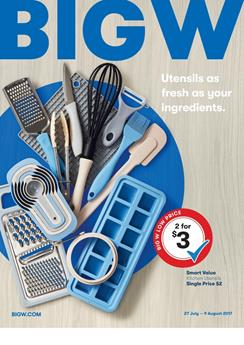 Big W Catalogue Household Deals 26 July - 9 Aug 2017