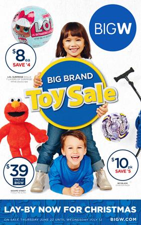 Big W Catalogue Toy Sale July 2017