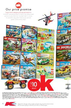Lego; Kmart Catalogue Prices 19 July 2017