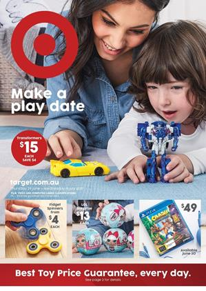Target Toy Sale Catalogue July 2017
