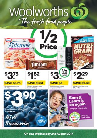 Woolworths Catalogue Grocery 2 - 8 August 2017