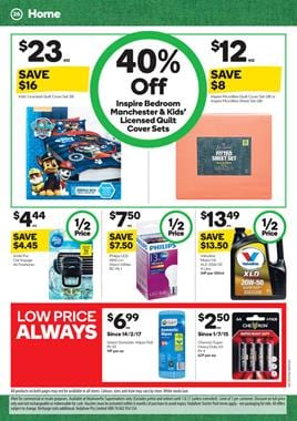Woolworths Catalogue Household 19 - 25 July 2017