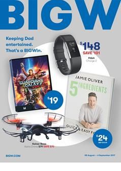 Big W Catalogue Father's Day Gifts