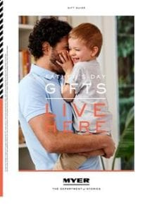 Myer Catalogue Fathers Day Gifts 22 Aug - 3 Sep 2017