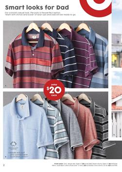 Target Catalogue Fathers Day Gifts 23 - 30 August 2017