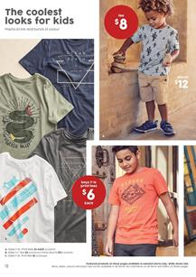 Target Catalogue Kids Clothing 10 - 23 Aug 2017