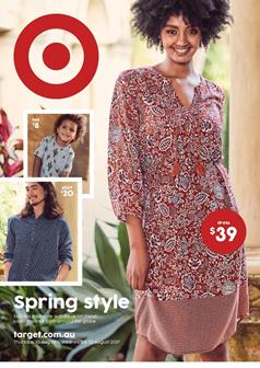 Target Catalogue Spring Casual 10 - 23 August 2017