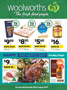 Woolworths Catalogue Food 30 Aug - 5 Sep 2017