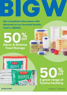 Big W Catalogue Home Products 6 - 20 September 2017