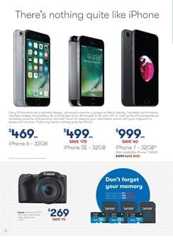Big W Catalogue iPhone Prices September 2017