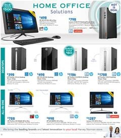 Harvey Norman Catalogue PC Prices 8 - 24 September 2017