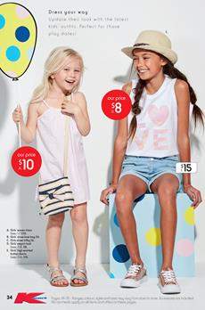 Kmart Catalogue Clothing Deals 21 Sep - 11 Oct 2017