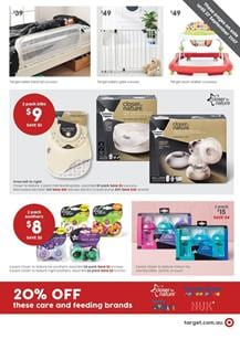 Target Catalogue Baby Products 14 - 20 September 2017