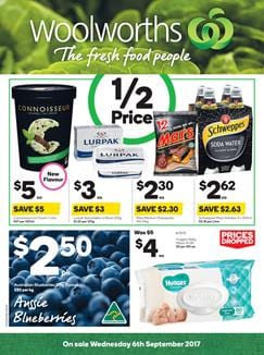 Woolworths Catalogue Grocery 6 - 12 September 2017