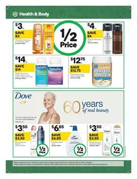 Woolworths Catalogue Personal Care 20 - 26 Sep 2017