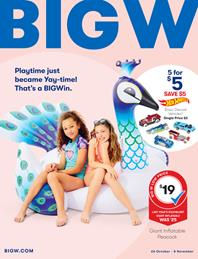 Big W Catalogue Toy Sale 26 Oct - 8 Nov 2017