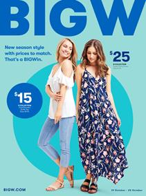 Big W Catalogue Womens Clothing 19 - 25 October 2017