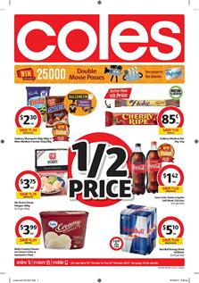 Coles Catalogue Deals 18 - 24 October 2017