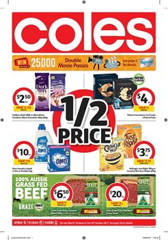 Coles Catalogue Deals 4 - 10 October 2017