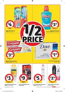 Coles Catalogue Household Products 25 - 31 October 2017