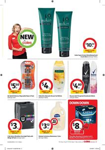 Coles Catalogue Personal Care 11 - 17 October 2017