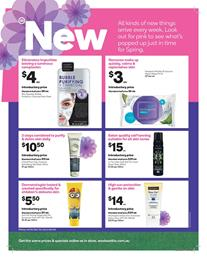 Woolworths Catalogue Beauty Products October 4 - 10 2017