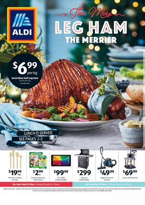 ALDI Catalogue Christmas Food 29 Nov