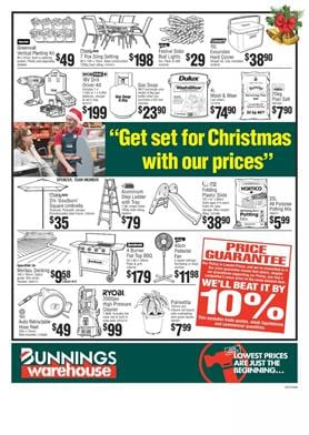 Bunnings Catalogue Christmas Deals Nov 2017