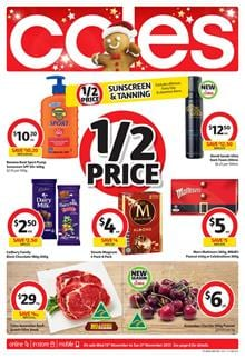 Coles Catalogue Deals 15 - 21 November 2017