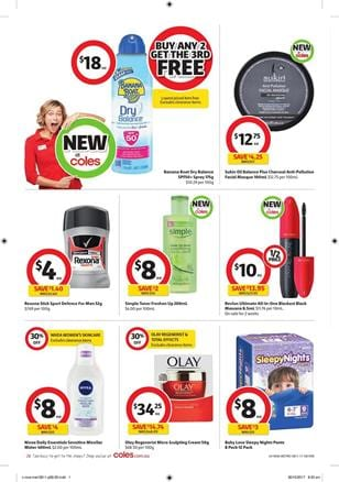 Coles Catalogue Household 8 - 14 November 2017