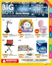 Harvey Norman Catalogue Christmas Deals 8 - 19 November 2017