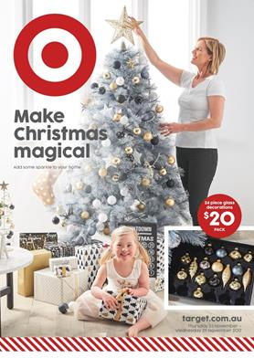 Target Catalogue Christmas Decoration 23 - 29 Nov 2017