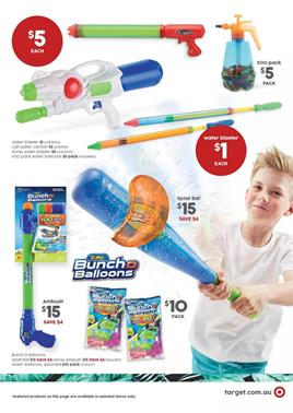 Target Catalogue Last Day Entertainment Nov 22, 2017