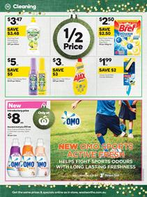Woolworths Catalogue Cleaning Supplies 22 - 28 Nov 2017