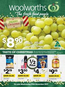 Woolworths Catalogue Deals 29 Nov - 5 Dec 2017