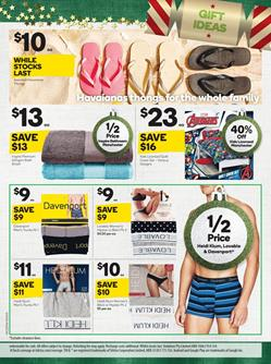 Woolworths Catalogue Gift Cards 22 - 28 Nov 2017