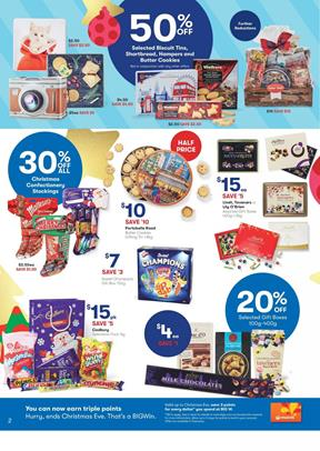 Big W Catalogue Christmas Chocolates 18 - 24 December 2017