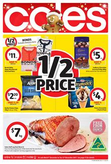 Coles Catalogue Christmas Deals 6 - 12 December 2017