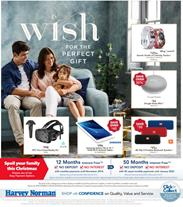 Harvey Norman Catalogue Christmas Gifts 1 - 24 December 2017