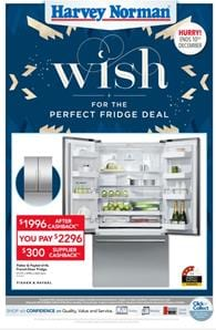 Harvey Norman Catalogue Fridge Deals