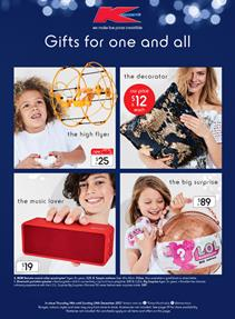 Kmart Catalogue Christmas Gifts December 14 - 24, 2017