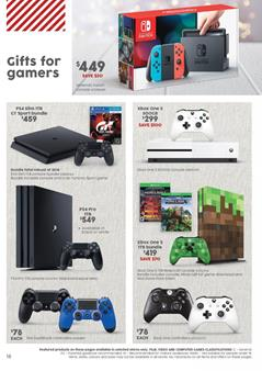 Target Catalogue Game Gifts 30 Nov - 6 Dec 2017
